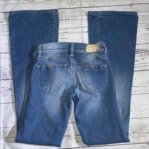 Diesel Livier-Flare Super Slim-Flare Low Rise Jean